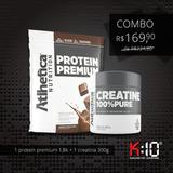 Combo Protein Premium + Creatina Da Atlhetica Nutrition