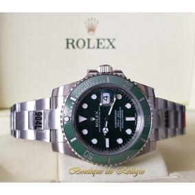 d9480f2dc73 Relógio Eta Novo - Submariner Dial Verde Sa3135 Gmf Aço 904l. R  3.499