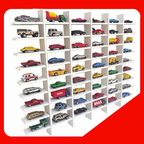 Estante Expositor Hot Wheels 54 Nichos Carrinhos Miniatura