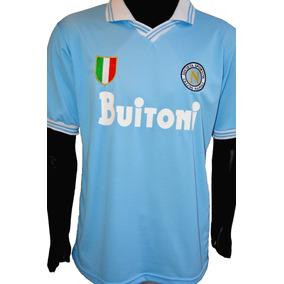 Camiseta del Napoli para Adultos en Mercado Libre Argentina 61244a8c28e05
