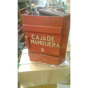 Antiguacaja De Madera Para Manguera Original 1940