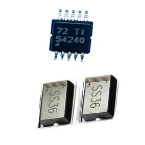 Kit 8 Ss36 Diodos Sk36 3a Schottky + 4 Peças Tps 54240