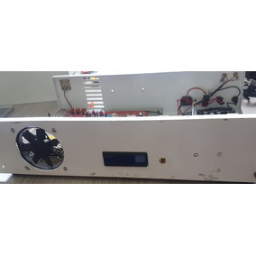 Transmissor Tx Stereo Rádio Comunitária Ajustável 25w