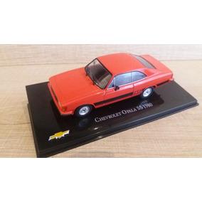 Miniatura Opala Ss 1980 Salvat Chevrolet Collection Nº 56