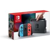 Nintendo Switch Joy Rojo Y Azul Nuevo Original (330 Trmp)