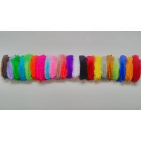 Penas Coloridas Para Flechas, Petecas E Artesanato
