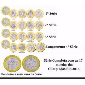 Coleção Completa Das Moedas Das Olimpiadas
