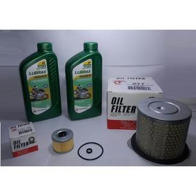 Kit Troca Oleo Cb 300r 2lts Óleo + Filtro Ar + Filtro Óleo