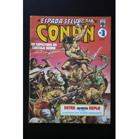 Pacote A Espada Selvagem De Conan 33 Hq