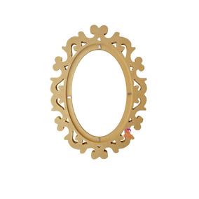 Moldura Para Espelho Em Mdf Cru Grande Cm000406