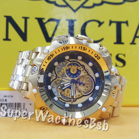 Invicta Venom Hybrid 16804 Dourado Plaque 18k Nova Geração