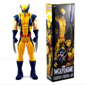 Boneco Wolverine X-men 31cm Articulado Pronta Entrega Menor$