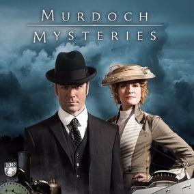 Dvd Murdoch Mysteries (1ªa11ª) Temporadas Com Caixinhas