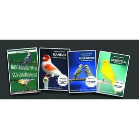 Livros Criação De Canários Eliane Seixas - Coleção