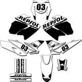 Adesivos Trilha Gráficos Bros 2009 A 2012 Bros-150b