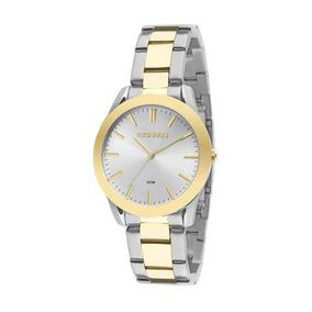 246934ff404 Relogio Unissex Em Aço Inox Dourado - Joias e Relógios no Mercado ...