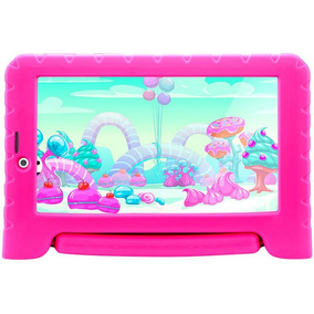 Tablet Multilaser Kid Pad Plus 8gb 7¿ 3g/wi-fi Android Rosa