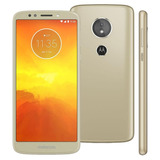 Smartphone Motorola Moto E5 Play Dourado Dualchip 16gb Nfe