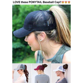 Gorra Mujer, Sombrero Mujer, Ponny Tail Envío Gratis