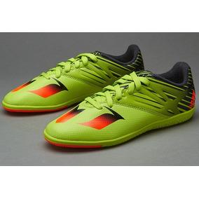 uk availability cc5fe a7e66 Tenis adidas Messi 15.3 Indoor Solar Slime