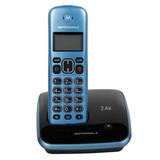 Teléfono Digital Inalámbrico Motorola Auri3520a-2 - Azul