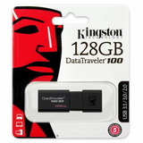 Kingston Memoria Usb 128 Gb 3.0 Datatraveler Dt100g3/128gb