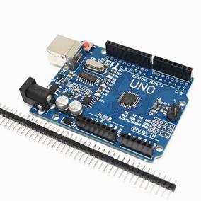 Arduino Uno Rev3 R3 Atmega328 Smd Ch340 + Barra De Pinos