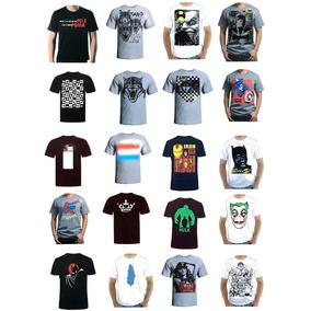 Kit 10 Camisetas Camisa Masculina Pre Lavada Atacado Revenda