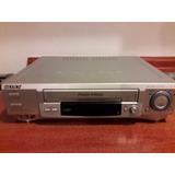 Reproductor Vhs Sony (para Repuestos O Sintonizar Canales)
