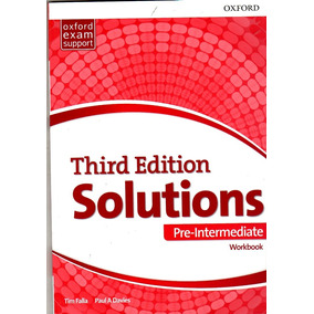 Solutions Pre Intermediate / Workbook / Third Edition