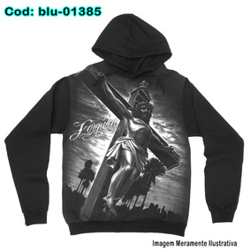 84ab27770d7 Blusa De Frio Moletom Lowrider Jesus Forever -blu1385