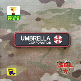 Funny Patch Tarja Emborrachado Umbrella Corporation