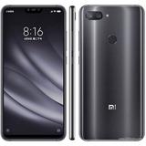 Xiaomi Mi8 Lite 64gb Global Mi 8 Midnight Black + Capinha