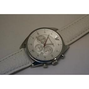 Reloj Emporio Armani Extensible En Piel