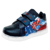 Tenis Led Spiderman