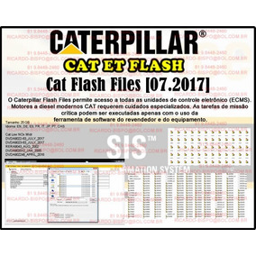 Caterpillar - Cat Flash Files Atualizados + Cat Et 2017