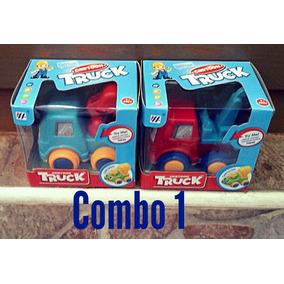 Carritos Combos De Dos Cartoon Truck
