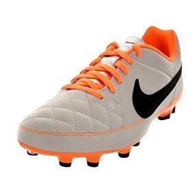 Botines Fútbol 5 Nike Enganche Iii Jr. 1 vendido · Botines Nike Jr Tiempo  Genio Leather eaa6d1e8da6ef