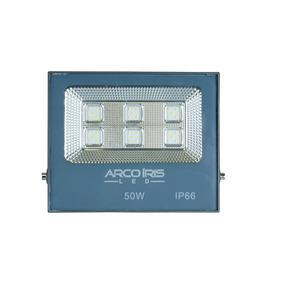 Refletor Para Fachada De Loja Led 50w Ip66 Slim Microled