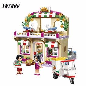 Restaurante Lego Blocos De Montar Casa De Boneca Meninas