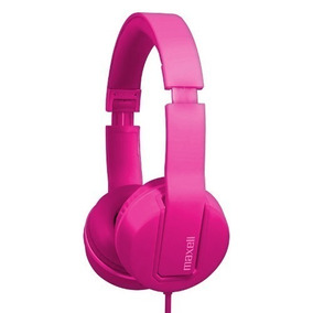 Fone Ouvido Solid 2 Headphone Com Microfone Maxell - Pink