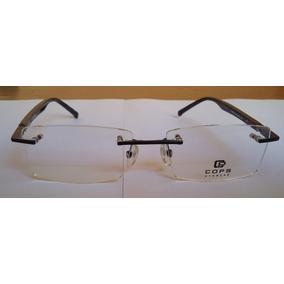Armação Óculos Cops Eywear Hand Made - Novo · R  150 f767e6e406
