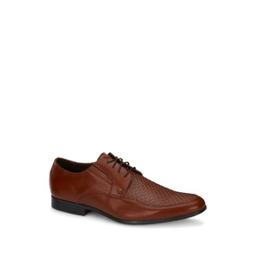 Flat Oxford Hombre Cognac 2627526 Ferrato