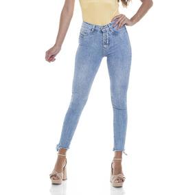 Calça Jeans Denim Zero - Calças Feminino no Mercado Livre Brasil 4dc0eb012aab7