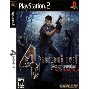 Resident Evil 4 Português Com Cheats Playstation2 Ps2 Play2