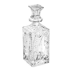Garrafa Quadrada Venice 500ml Cristal