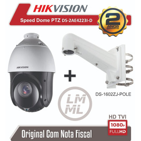 Speed Dome Hikvision Ptz Ds-2ae4223ti-d 23x Ir 100 Mts 1080p