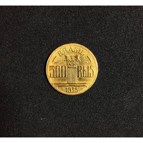 Moeda Raríssima 500 Réis 1935 Regente Feijó (sob+++)