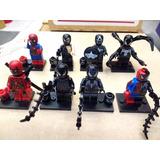 Spiderman Lego Compatibles Venom Y Mas 8 Figuras Env Gtis! .