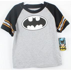 Playera Para Niño Marca Batman Color Gris Talla 3